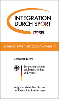 Logo Integration durch Sport