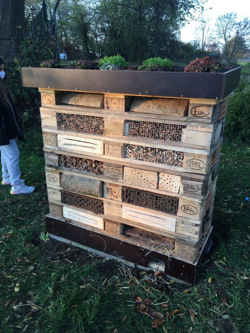 Ein Bienenhotel