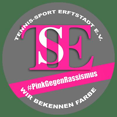 Logo TSE Pink gegen Rassismuss