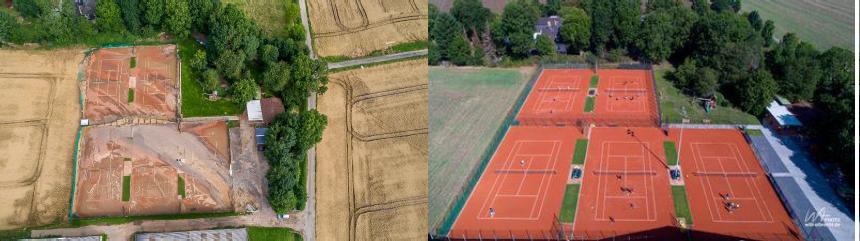 Beschlossen und verkündet – Zur Sommersaison 2022 spielen wir bei uns wieder Tennis!