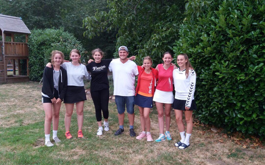 TSE-Juniorinnen siegen und steigen in die 2. Bezirksliga auf
