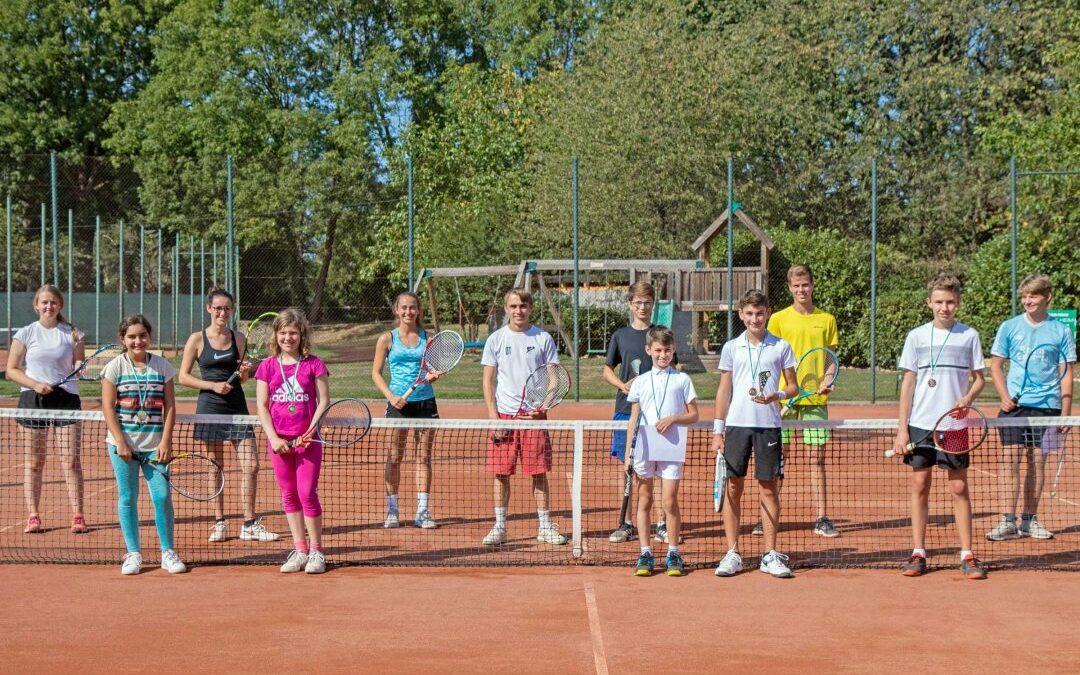 Clubmeisterschaften 2020 – Saisonabschluss mit Siegerehrung der TSE Jugend